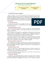 La evaluación de los aprendizajes         Enrique Martínez-Salanova Sánchez