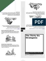 36 Strategems Illustrated Book US