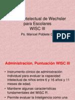 Escala Intelectual de WISC III (1)