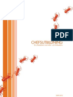 CHEFSUTBILDNING för Arbetsledare Inom Kultur- Och Fritidssektorn 2009-2010 Chefsutbildning