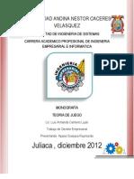 Universidad Andina Nestor Caceres Velasquez