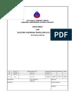Data Sheet- Overhead Travelling