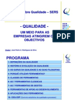 Palestra sobre Qualidade SERS 2013