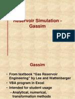 10. Reservoir Simulation-Gassim