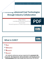 M. Walters - Promoting Advanced Coal Technologies through Industry Collaboration