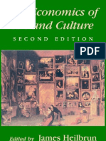 Cambridge University Press,.the Economics of Art and Culture, 2nd Edition.[2001.Isbn0521637120]