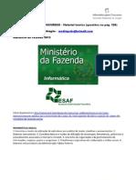 Ministério da Fazenda 2013 - material teórico e questões comentadas ESAF 186q 178p www.informaticadeconcursos.com.br