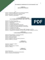 Reglamento de Procedimiento Administrativo Sancionador Del CART