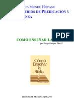 BMH_012-COMO ENSEÑAR BIBLIA