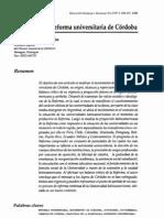 La reforma universitaria de Córdoba