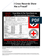 Official Red Cross Records Show Holocaust Was a Fraud