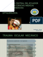 Trauma Ocular (Mecánicos)