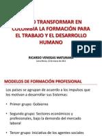 ETDH en Colombia - Ricardo Venegas