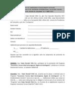 CARTA COMPROMISO DE PRESTACIÓN DE SERVI