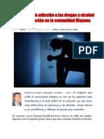 El estigma en la adicción a las drogas,  alcohol y la discriminación en la comunidad Hispana
