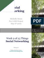 Michelle Breen LNSS Talk Social Networking