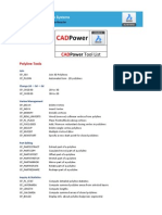 CADPower Commands in english