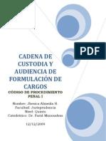 Caratula de La Prueba Documental