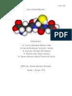 Antioxidantes en La Quimica