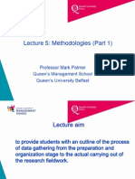 Lecture 5 Methodologies Part 1