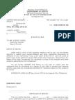 Sample Subpoena for Respondent