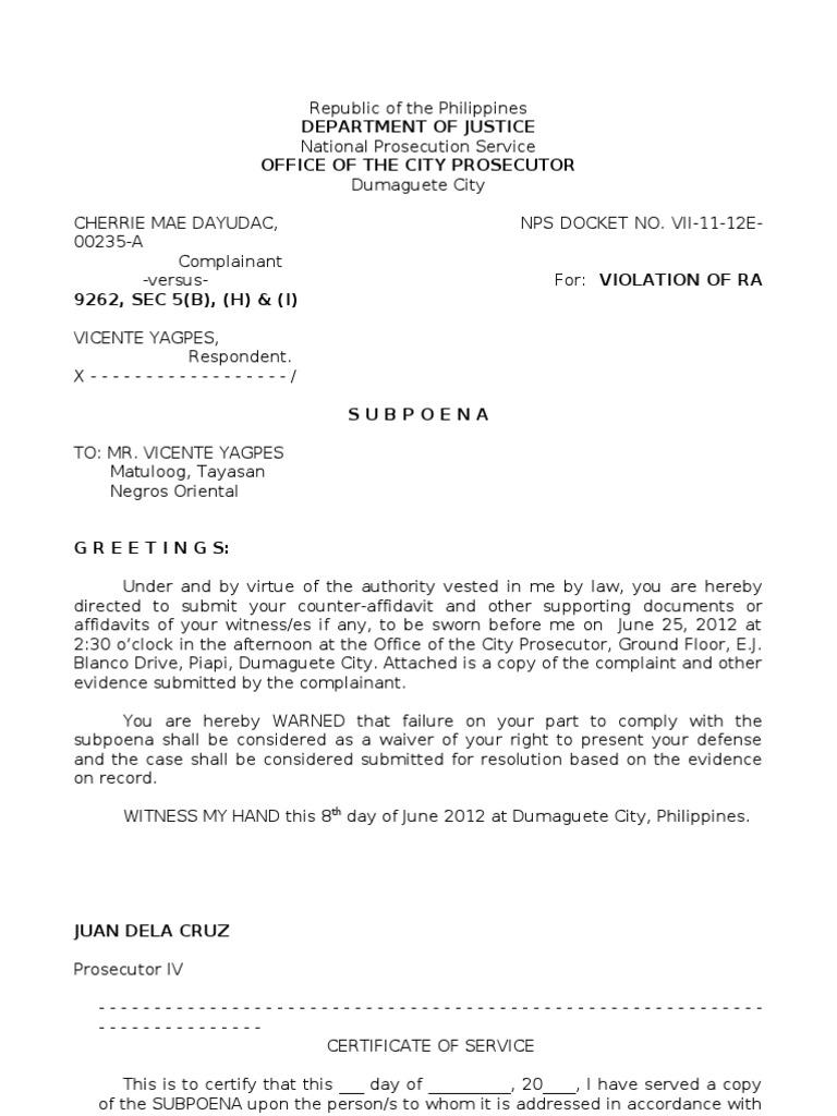 Affidavit Of Loss Template Staruptalent Com