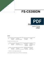 Kyocera FS C5350 Parts Catalogue