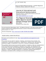 The Regional Dimension How Regional Media System Condition Global Climate