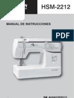 HSM 2212+Instruction+Book(Spanish)