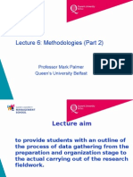 Lecture 6 Methodologies Part 2