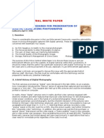 Suggested Procedures for Preservation of Digital Crime Scene Photographs