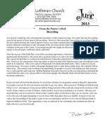 Newsletter, June 2013
