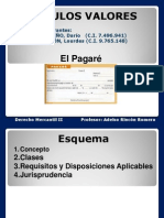 Mercantil II (Pagaré)