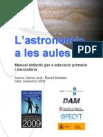 Manual Didàctic d'Astronomia