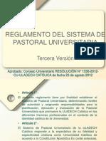 Reglamento Sistema Pastoral