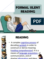 Silent Reading REPORT
