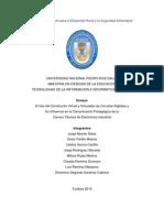 El Uso del Constructor Virtual y Simulador de Circuitos Digitales ySu Influencia en la Comunicación Pedagógica de laCarrera Técnica de Electrónica Industrial