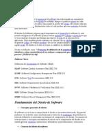 DISEÑO DE SOFTWRE