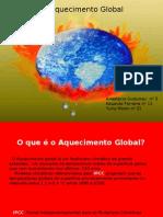 Aquecimento Global 2003