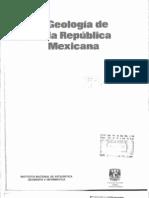 Geología de la República Mexicana