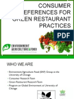 Consumer Research Final Presentation - EAF Spring 2013