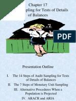 Audit Sampling TDB