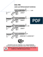LE6940 Colt Advanced Law Enforcement Carbine Manual