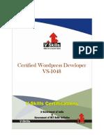 Certified Wordpress Developer_Brochure