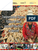 Transformando El Sistema Publico de Salud PNA -2012