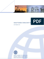 FIDIC QUALITY BASED CONSULTANT SELECTION GUIDE
