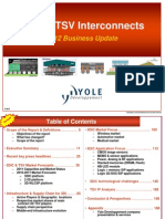 Yole 3DIC & TSV Interconnects July 2012 Sample[1]