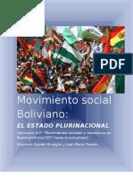 Movimientos Sociales Bolivia