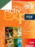 WMG ActivExpo Brochure