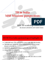 TB in India MSF missions perspectives_Joanna & Camillo